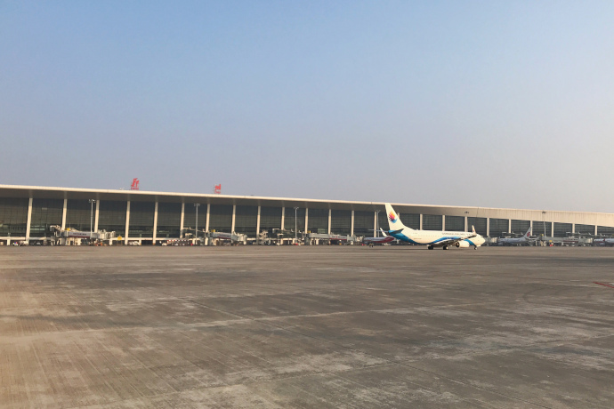 Zhengzhou Airport consists of a single passenger terminal.